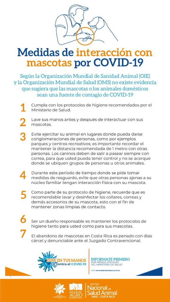 Medidas de Intervecion con Mascotas por Covid19